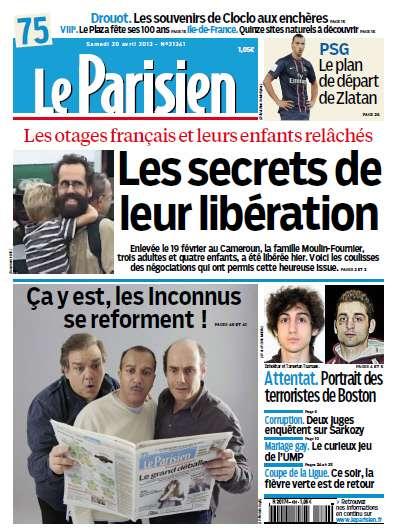 Le Parisien Samedi 20 Avril 2013