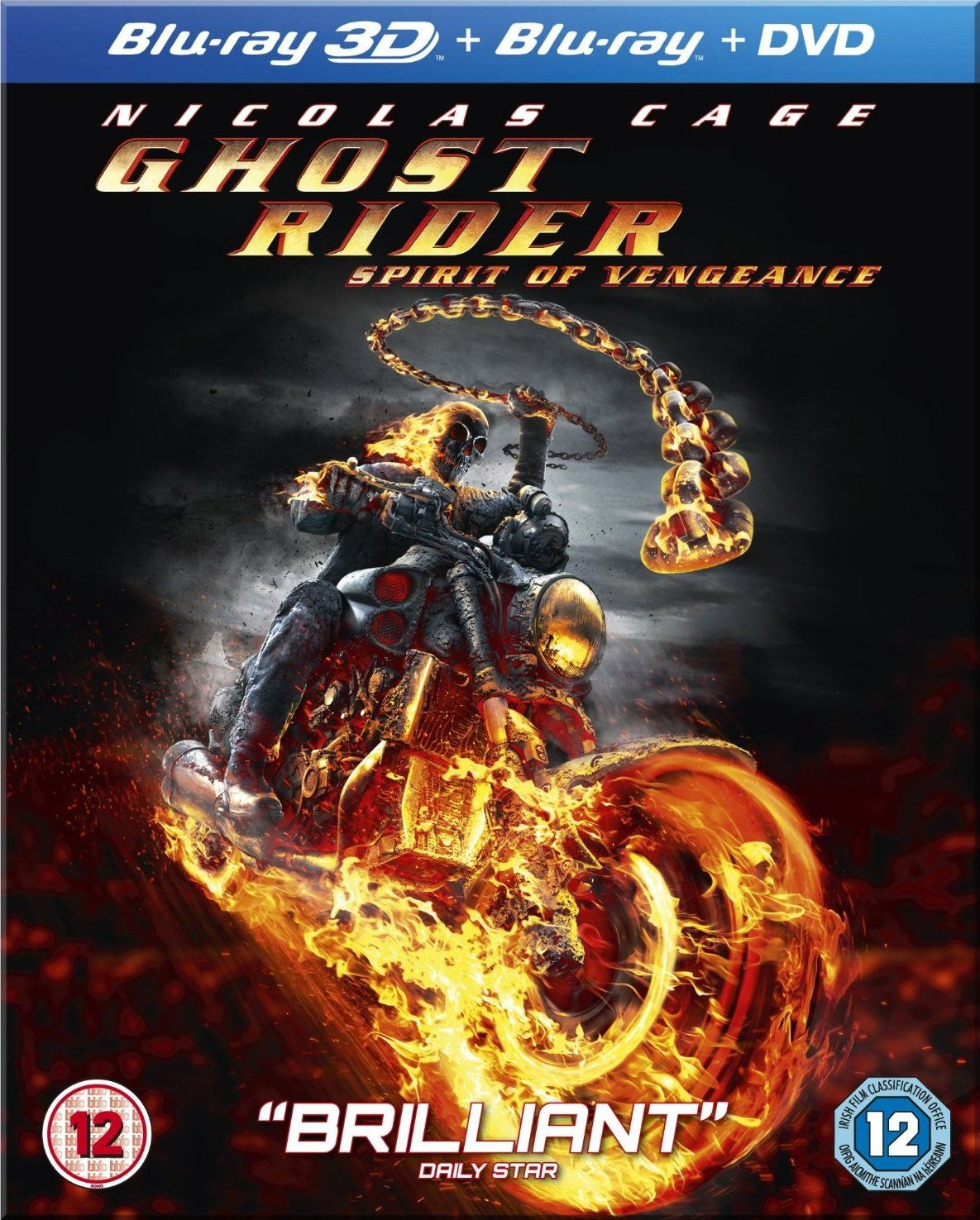 Ghost Rider Spirit of Vengeance - 3D 1080p Half Sbs