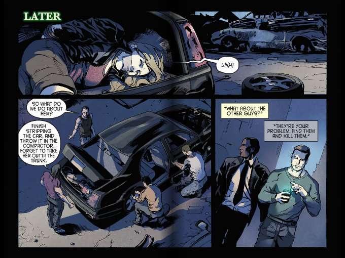 комикс черный фургон
